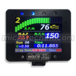 "GPS ""Drag Mode"" 1/4 Mile Timing Screen"